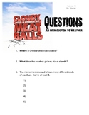 Cloudy With A Chance of Meatballs (Worksheet and Intro to