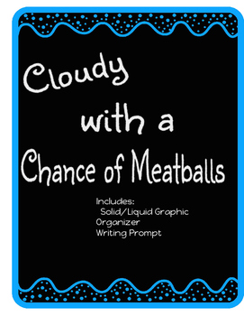 Cloudy With A Chance of Meatballs - mini unit