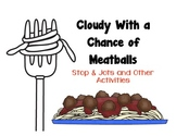 Cloudy With a Chance of Meatballs Activities