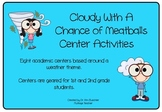 Cloudy With a Chance of Meatballs Center Activities