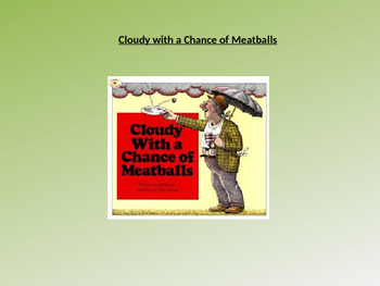 Cloudy With a Chance of Meatballs Text Talk