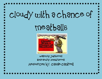 Cloudy With a Chance of Meatballs Unit
