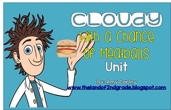 Cloudy With a Chance of Meatballs Unit {Lessons, Centers, & more!}