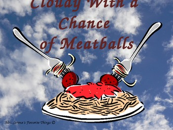 Cloudy With a Chance of Meatballs Vocabulary Development Powerpoint