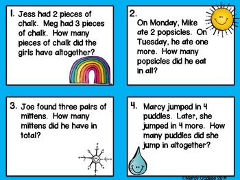 Cloudy With a Chance of Word Problems