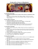 Cloudy with a Chance of Meatballs 2 - 4 Types of Paragraphs Writing Prompts