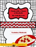 Cloudy with a Chance of Meatballs Book Vocabulary Flash Ca