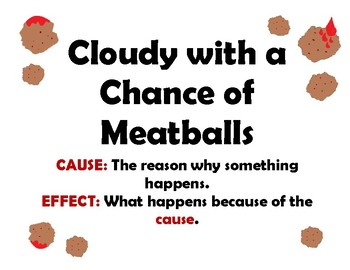 Cloudy with a Chance of Meatballs Cause and Effect