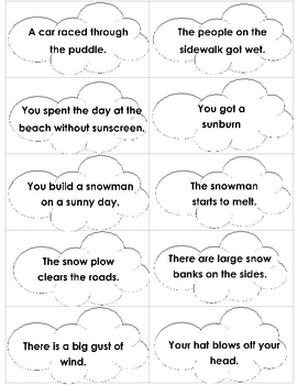 Cloudy with a Chance of Meatballs Mini-Literacy Unit