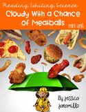Cloudy with a Chance of Meatballs Mini Unit with worksheets and centers