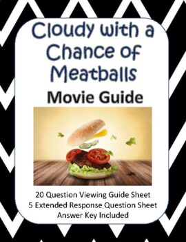 Cloudy with a Chance of Meatballs Movie Guide