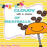Cloudy with a Chance of Meatballs Pack/ book companion