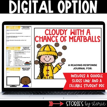 Cloudy with a Chance of Meatballs Picture Book Companion
