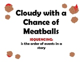 Cloudy with a Chance of Meatballs Sequence of Events Activity