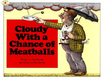 Cloudy with a Chance of Meatballs Vocabulary PP and Quiz