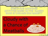 """""""Cloudy with a Chance of Meatballs"""" Speech Activities"""