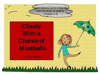 Cloudy with a chance of Meatball Mini-Literacy unit
