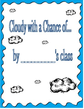 Cloudy with a chance of meatballs classbook