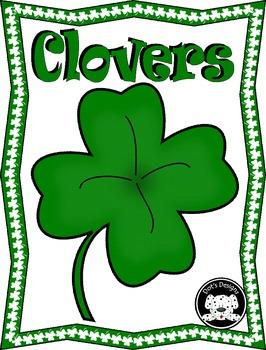 St. Patrick's Day Clip Art ~ Clover
