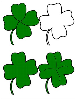 St. Patrick's Day Clip Art ~ Clover