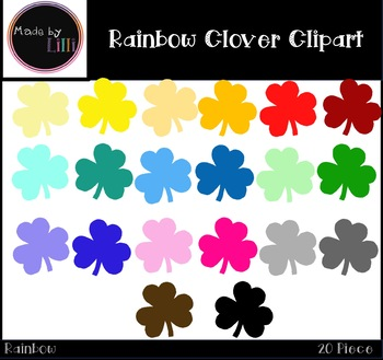 Clover Clipart / St. Patrick's Day Clipart / Saint Patty's Day Clipart