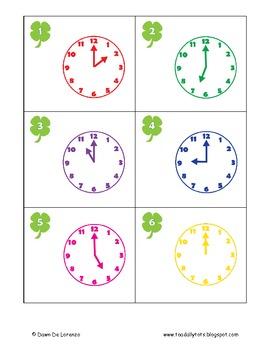 Clover Clocks Write the Room to the Hour