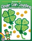 Clover Coin Counting: St. Patrick's Day Craft