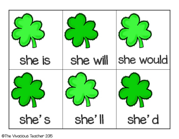 Clover Contractions St. Patrick's Day