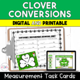 Clover Conversions:  Measurement Task Cards - 5.MD.1