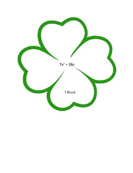 Clover Count It - Multiplying Polynomials
