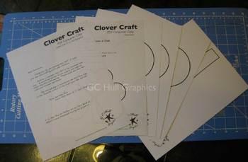 Clover Craft Template PDF