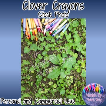 Clover Crayons (Stock Photo)