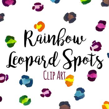 Leopard Spots Clip Art