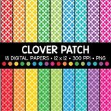 Clover Patch Digital Paper