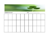 Clover Seating Chart Template for the Music Classroom