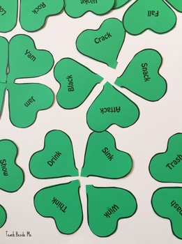 Clover - Shamrock Word Families