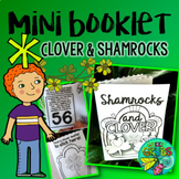Clover & Shamrock St Patrick's day FREEBIE {Tiny fun & facts booklet}