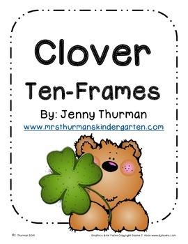 Clover Ten Frames