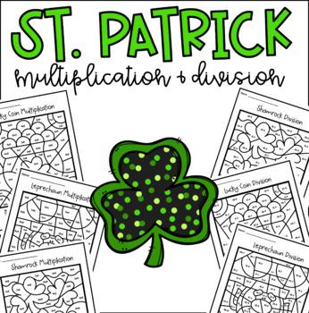 Clovers, Leprechaun, Lucky Coin Multiplication Division