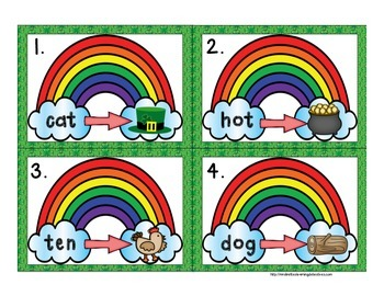 Clovers, Rainbows & Leprechauns! Oh My! {10 ELA and Math Stations}