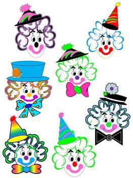 Clown CLIP ART