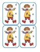 Clown Capital to Lowercase Clip Cards