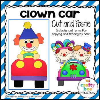Clown Car Cut and Paste