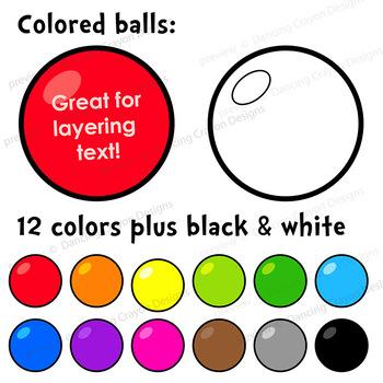 Clown Clip Art   Clown juggling colorful balls