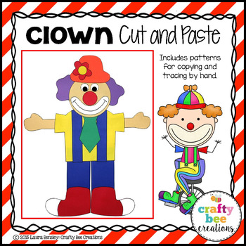 Clown Cut and Paste