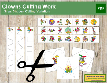 Clown Cutting Strips