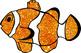 Clown Fish Bulletin Board Border Sparkle FREE