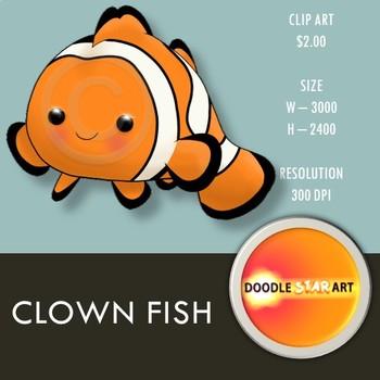Clown Fish Clip Art