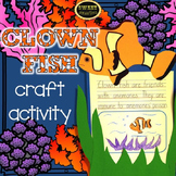 Clown Fish Craft Activity