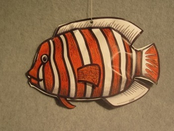 Clown Fish Mobile Fun Two Sided 3d Craft Art By Fun Educational Art